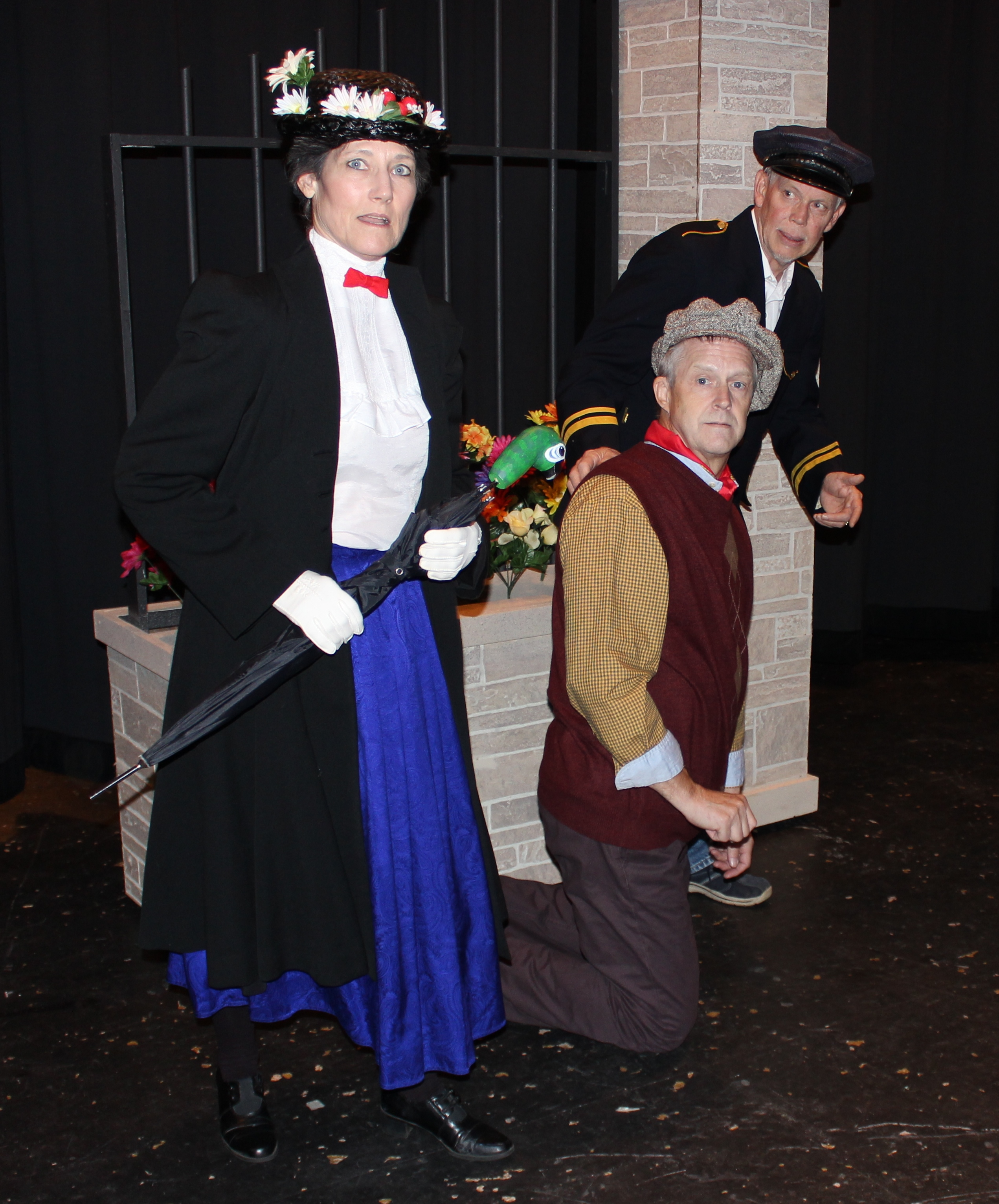 Mary Poppins, Bert, Park Keeper