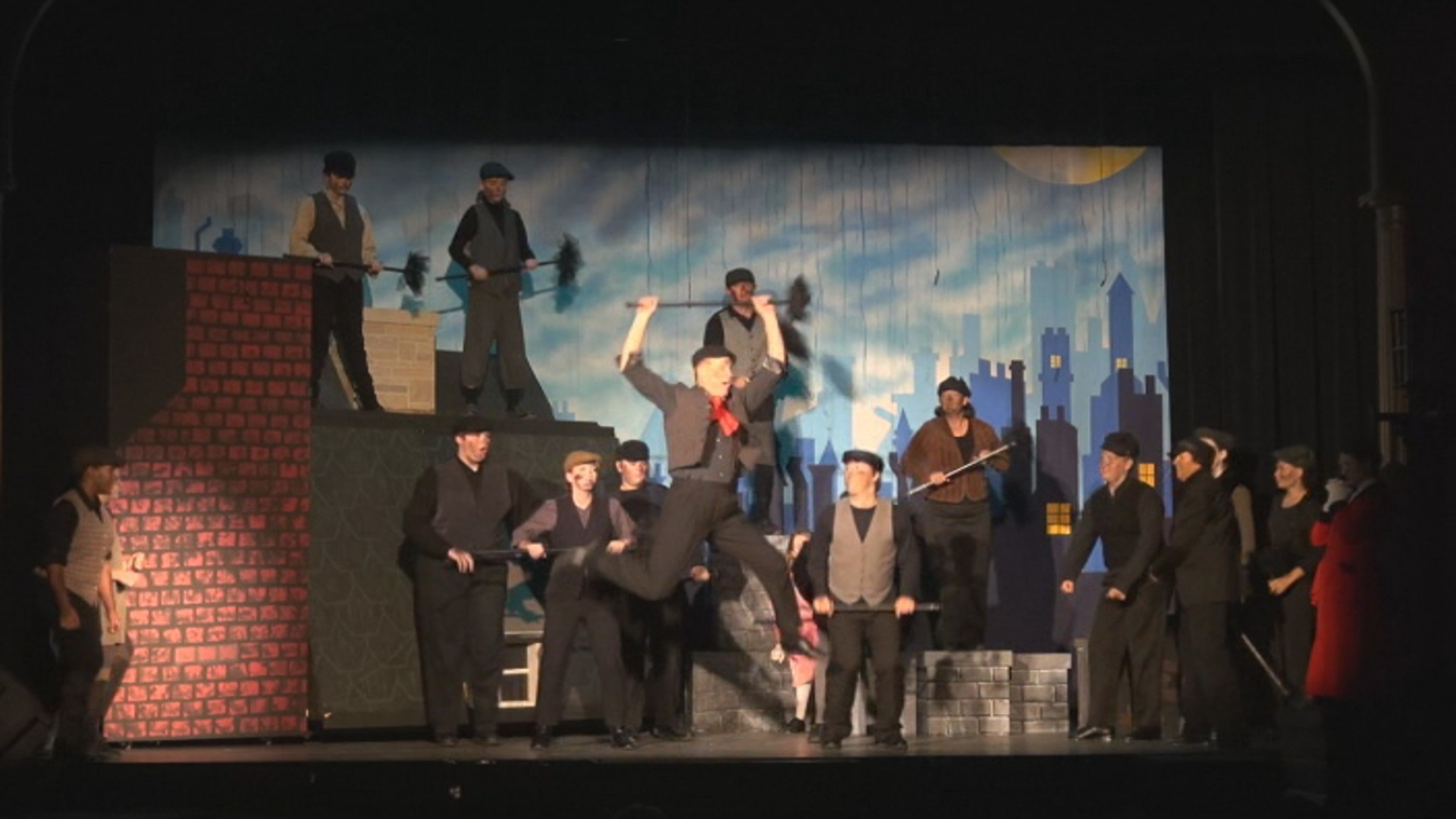 Bert and the Chimney Sweeps Step in Time