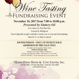 Wine Tasting – Fundraising Event – 11/10/2017